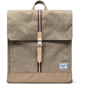 Herschel City Mid-Volume Backpack 14L, kelp crosshatch/kelp